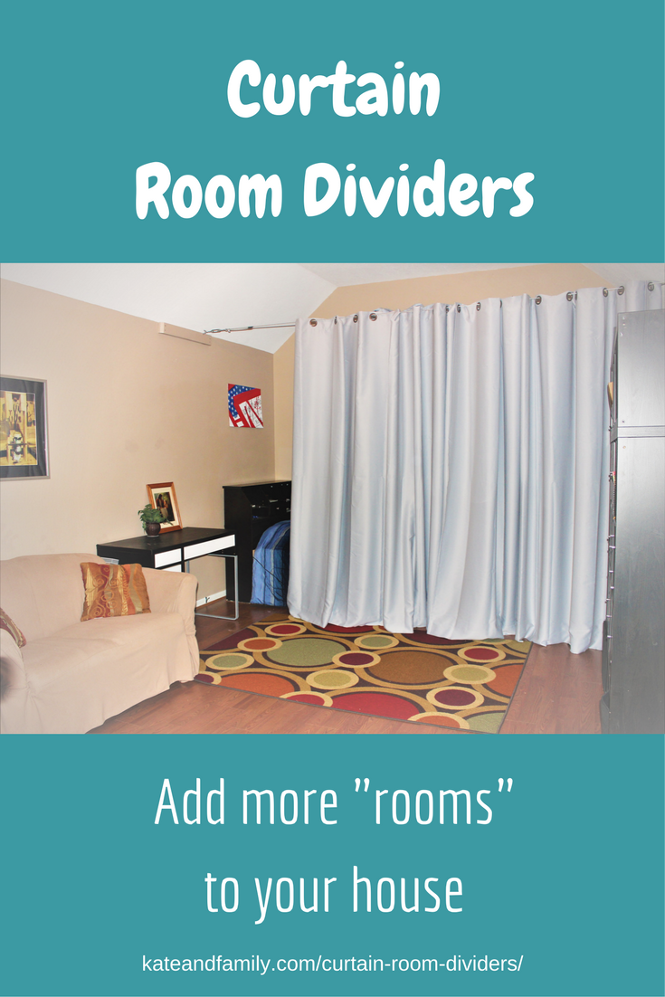 "Curtain Room Dividers: Ideas For Adding More ""Rooms"" To"